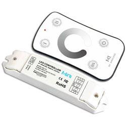 RVS trapleuning Set afstandsbediening LED verlichting enkelkleurig