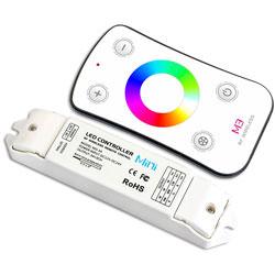 RVS trapleuning Set afstandsbediening LED verlichting meerkleurig
