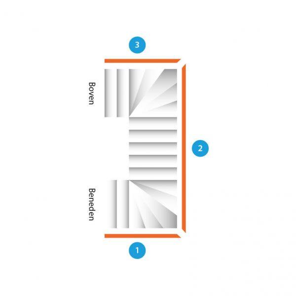 trap-dubbelkwartdraai-drie-trapleuningen