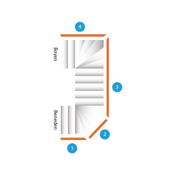 trap-dubbelkwartdraai-vier-trapleuningen
