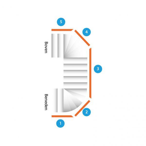 trap-dubbelkwartdraai-vijf-trapleuningen